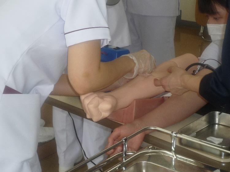注射の演習